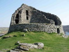 Carloway Broch, Isle of Lewis, Outer Hebrides, Scotland