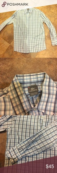 Lacoste men shirt New without tags Lacoste Shirts Dress Shirts