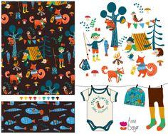 boy patterns - Anna Berger