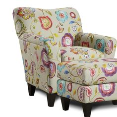 Found it at Wayfair - Rome Arm Chair and Ottoman