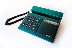 BANG U0026 OLUFSEN Beocom 2000 Telephone Green Blue Phone Corded Analog Designer  Home Office Decor Modern Minimalist Danish 1986 Multicolor 80s
