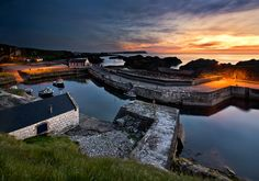 Ballintoy Harbour, Ireland                     by Gary McParland, via 500px