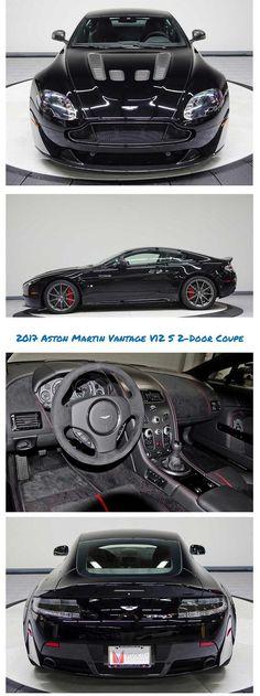 2017 Aston Martin Vantage V12 S 7 Speed Manual 2-Door Coupe