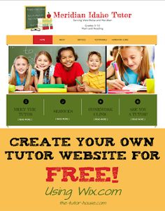 Build Your Own Tutor Site