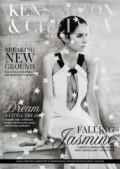 The Kensington and Chelsea Magazine June 2015  The Kensington & Chelsea Magazine showcases news concerning local residents and events happening in and around the Royal Borough, as well as intelligent and sophisticated features on property, places, products and services of relevance to its audience. Interviews with prominent people from different luxury industries in the local area also feature monthly.