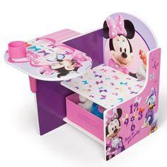 The Delta Children Chair Desk Storage Bin, Disney Minnie Mouse online shopping - Desk And Chair Set, Desk Chair, Desk Set, Table Desk, Desk Lamp, Storage Chair, Fabric Storage, Toddler Chair, Delta Children