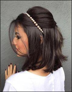 Kurze Frisuren, Brautjungfer Frisuren Für Kurze Haare In Bezug Auf ...