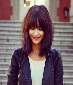 hairstyle with bangs 2014 – 2015