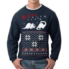 Dinosaur Sweatshirt Unisex Navy now featured on Fab.