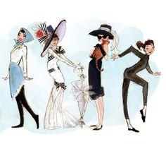 from the Audrey Hepburn book