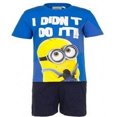 Official Licensed Despicable Me Minion Pyjamas / Pajama Set (3 Years (98 cm), Red)