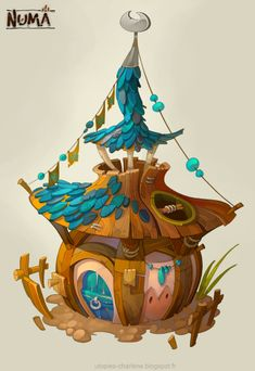 Catell-Ruz: Dofus, Descent, Hearthstone stuff... - Polycount Forum