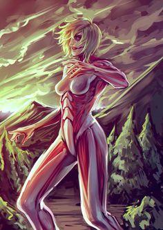 The Female Titan by moni158.deviantart.com on @deviantART