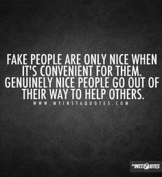 """Thats the difference between """"true"""" n """"fake""""!!!"""