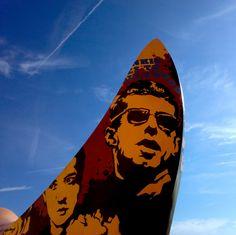 Holly Johnson & Pete Wylie - Superlambanana - Pier Head - Liverpool Holly Johnson, Frankie Goes To Hollywood, Liverpool City, Surfboard, Photographs, Music, Musica, Musik, Photos