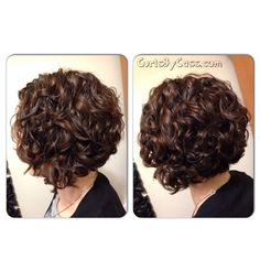 Love this curly bob
