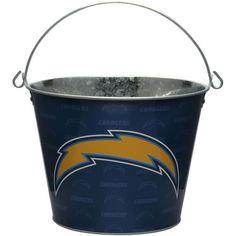 Los Angeles Chargers 5-Quart Tonal Full Wrap Bucket - $15.99