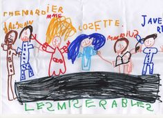 Final Curtain Call. By Maya Wagner. Age 4. From France. #theatre #lesmis #musicals www.lesmis.com