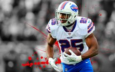 Download wallpapers LeSean McCoy, 4k, american football, Shady, grunge, NFL, Buffalo Bills, running back
