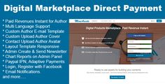 Digital Products Marketplace Direct Payment Nulled Download  Paid revenue instant for author; multi language support; custom author email template; custom upload author cover; contact upload author avatar; layout template response; admin create & send newsletter; chart reports on admin panel; paypal IPN, adaptive payments; login, register with... http://freenetdownload.com/digital-products-marketplace-direct-payment-nulled-download/