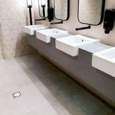 Our Kaiteri and Tilt A Grate floor waste setup was selected for the latest restrooms and changing facilities at Melbourne's Rod Laver Arena. . allproof.com.au . #drainagemelbourne #drainage #drain #melbournearchitecture #melbourneconstruction #Melbourne #melbournebuilder #melbourneinteriordesign #melbourneplumber #rodlaver #restrooms #bathroomdesign #bathroomdecor #bathroomrenovation #bathroom #architecture #architecturephotography #architecturemelbourne #austalianarchitecture… Rod Laver Arena, Melbourne Architecture, Tilt, Flooring, Interior Design, Bathroom, Products, Home Decor, Nest Design