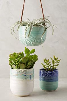 Sea Bubbles Hanging Planter - anthropologie.com