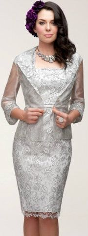 Dress and Jacket Set 85 | Isabella Fashions | Mother of the bride dresses, plus sizes, and evening wear