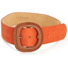 twiggy LONDON Wide Belt with Covered Buckle at HSN.com.