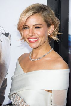 The handover: It was recently revealed that Sienna Miller will take over Emma's role as fi... Love her hair.