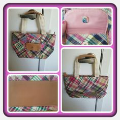 👜 Liz Claiborne Mini Tote 👜 ❌FINAL❌ Woman's Small Tote From Liz Claiborne In A Pretty Plaid Pattern. This Is Perfect For Spring & Summer. The Tote Zips Closed. I Believe Interior Has Slip Pockets And 1 Zippered Pocket. Great Pre Loved Condition 🚫 NO TRADES 🚫 PAYPAL 🚫 OFFERS FINAL MARKDOWN 💖 Liz Claiborne Bags Totes