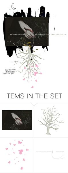 """rooted in love"" by sharmarie ❤ liked on Polyvore featuring art"
