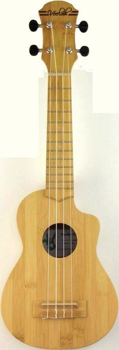 Veelah Vamboo Bamboo Soprano Ukulele
