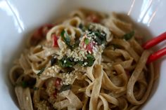 The Chalkboard Mag shares this recipe for gluten-free and vegan noodles perfect for summer parties.