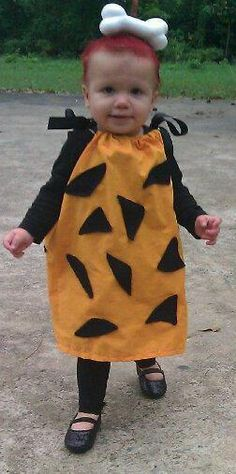 @Jamie Wise Rodgers, this reminds me of when scout was pebbles for Halloween!
