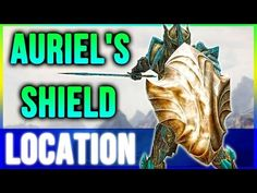Skyrim Secrets Best Armor - Aureal's Shield Location Walkthrough - YouTube