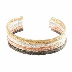 FISHBONE PLAIT BANGLES BY AYAKO KANARI. Buy Now:   http://www.londonrocksjewellery.co.uk/#!product/prd15/2508274151/rose-gold-fishbone-plait-bangle  For All Enquiries Call: 0207 242 1117 Visit Our Website: www.londonrocksjewellery.co.uk
