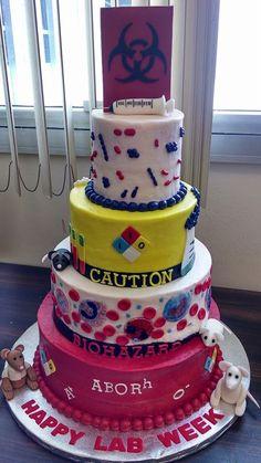 2014 Lab Week Cake