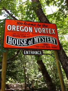 Oregon Vortex - Gold Hill