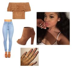 """""""Untitled #41"""" by jasmine-o28 ❤ liked on Polyvore featuring Charlotte Russe"""