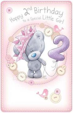 Little Girls Birthday Me to You Bear Card : Me to You Bears Online - The Tatty Teddy Superstore. Happy 1st Birthday Wishes, Happy 1st Birthdays, 1st Birthday Girls, Birthday Greetings, Birthday Cards, Birthday Images, Birthday Quotes, Karten Diy, Bear Card
