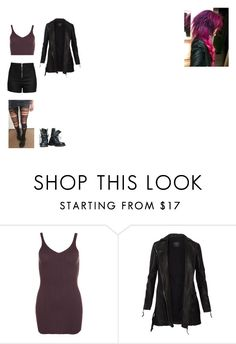 """My version of Blink from X-Men Days Of Future Past."" by shadow-182 ❤ liked on Polyvore featuring WearAll, AllSaints and Love Moschino"