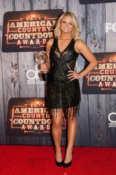 Miranda Lambert at the American Country Countdown Awards