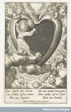 The Christ Child cleans the believer's heart