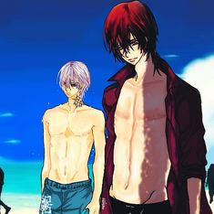 Hot Summer In Vampire Knight ~ Kaname and Zero by SuNsKyle.deviantart.com on @DeviantArt