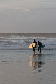 Surf's up at Westport, WA-photo by Esther Wenman