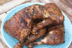 Traeger on a Budget: Chicken Leg and Thigh Quarters recipe. Great flavor and easy on your budget.