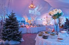 Ski Themed Bat Mitvah Los Angeles, Mindy Weiss Party Planning