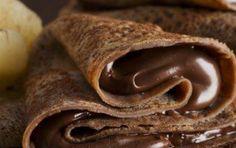 erbavoglio: in-my-mouth: Nutella Stuffed Chocolate Crepes CRIMINALI. Chocolate Crepes, Chocolate Delight, I Love Chocolate, Chocolate Heaven, Chocolate Filling, Chocolate Lovers, Chocolate Desserts, Craving Chocolate, Chocolate Humor