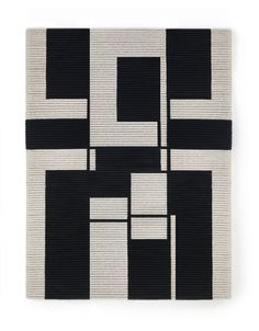 Senem Oezdogan's fiber-based geometric studies are all straight lines and woven shapes that tease the eye yet retain the softness of a tapestry.