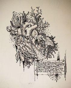 the anatomy of a stolen heart by ~kindahappysad on deviantART